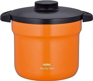 膳魔师 THERMOS 真空保温焖烧锅 Shuttle Chef 4.3 L (4~6人用) 橙色 4.3L KBJ-4500 OR