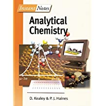 BIOS Instant Notes in Analytical Chemistry (English Edition)