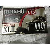 Maxell Audio Cassette~XLII~ 110 分钟~ 高偏差~