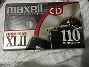 Maxell Audio Cassette~XLII~ 110 分鐘~ 高偏差~