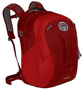 Osprey 中性童 弹簧 Pogo 24 红色 24升 儿童双肩背包 儿童日用旅游多功能硬质背板透气肩带舒适背负可放平板电脑多重分仓 三年质保终身维修10000594 (两种LOGO随机发) (儿童系列)