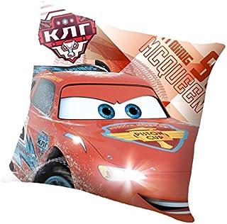 Unbekannt Kids Euroswan 方形枕头,汽车,棉,多色,25 x 20 x 7厘米