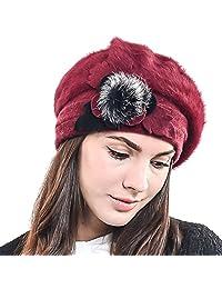 F&N STORY 女式法国贝雷帽 羊毛贝雷帽 时尚无檐小便帽 Jf-br034