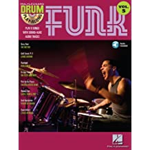 Funk (Songbook): Drum Play-Along Volume 5 (Hal Leonard Drum Play-Along) (English Edition)
