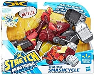 Stretch Armstrong & The Flex Fighters Omni Mass Smashcycle & Figure