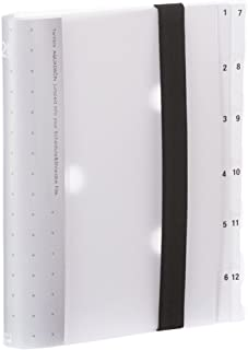 Lihit Lab . 约 & 分类文件夹12隔层  A5 S型 乳白