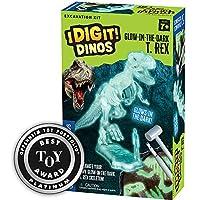 Thames & Kosmos I Dig It! Dinos 3D T. Rex 挖掘套件科学实验套件 84 months to 300 months 夜光 T-Rex