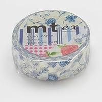 MT 日本 和纸胶带 蓝花
