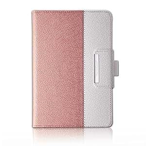 Thankscase 三星 Galaxy Tab A 手机壳超薄轻质智能手机壳,适用于 Tab A 智能外壳,内置弹性手带,*抓握LA8021EX-TABA80RG for Galaxy Tab A 8.0