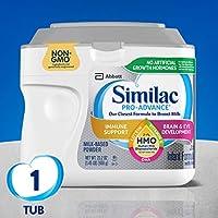 Similac 雅培 Pro-Advance 嬰兒配方奶粉,含鐵,含 2'-FL HMO,嬰兒配方奶粉,粉末,23.2 盎司(658g)