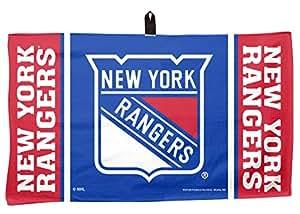 WinCraft NHL New York Rangers 35.56 x 60.96 厘米高尔夫华夫格毛巾