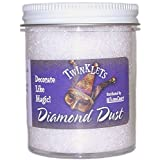 FloraCraft Diamond Dust Glitter Plastic Jar, 6-Ounce