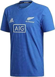 adidas 新西兰全黑 RWC 2019 性能 T 恤
