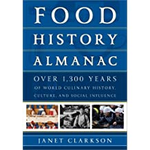 Food History Almanac: Over 1,300 Years of World Culinary History, Culture, and Social Influence (English Edition)