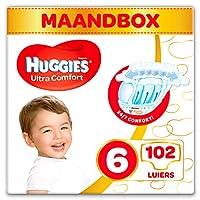 Huggies 婴儿尿布 超舒适婴儿 尺寸 6 个月装 3 × 34 件