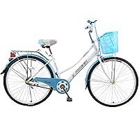 Phoenix 凤凰自行车女24寸轻便型城市ZXC单车通勤复古女式脚踏自行车