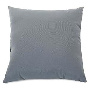 Majestic Home Goods 纯色室内/室外枕头 超大 灰色 85907220988