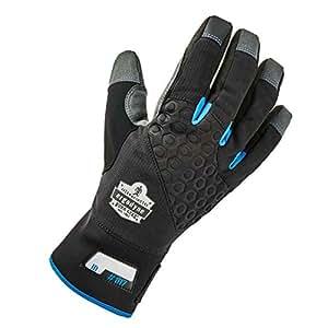 ergodyne proflex 817WP 保温保暖防水工具手套,中号,黑色 黑色 X大码