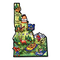 爱达荷州 Decowood 特大木冰箱贴 4.25