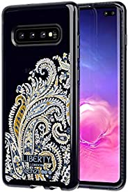 Tech21 Pure Print Liberty Felix Raisen Samsung Galaxy S10+ 保护壳 - 蓝色