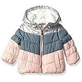 Osh Kosh 女童完美拼色加厚夹克外套