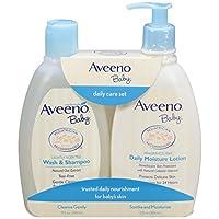 aveeno baby daily care set, 2 items by aveeno