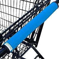 购物车手柄盖适用于杂货、手推车、婴儿车或*环形手柄| 旅行配件| 婴儿* | 可翻转、可清洗、可折叠、可重复使用 | 易于使用和紧凑