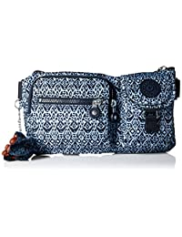Kipling Presto Convertible Waistpack, Multi Pocket, Zip Closure, Geometric Bliss