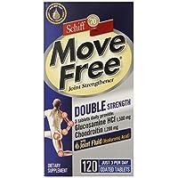 Move Free 双效氨基葡萄糖硫酸软骨素及透明质酸关节营养品,120 粒