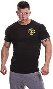 Goldsgym 基本款左胸印花 T 恤