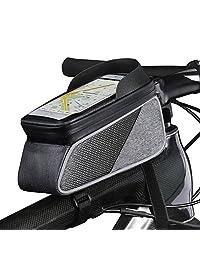 ROTTO 自行车包自行车包顶筒筒手机袋敏感触摸屏防水防雨罩