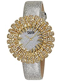Burgi 美国品牌石英女士手表 BUR112YGW(亚马逊进口直采)