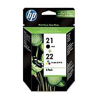 HP惠普 打印墨盒 21XL/C9351CE 2er-Pack Black and Tri-Colour
