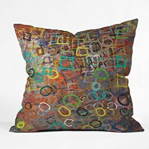 DENY Designs Kent Youngstom Circle Square Throw Pillow