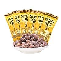 Tom's Farm 汤姆农场 汤姆农场蜂蜜黄油扁桃仁35g*6(韩国进口)(亚马逊自营商品, 由供应商配送)