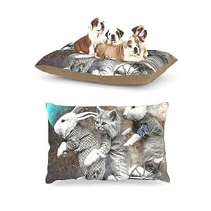 "Kess InHouse Suzanne Carter""太空旅行""羊毛狗床,30 x 40 英寸"