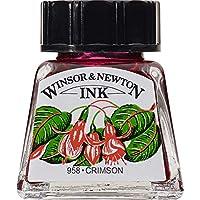 Winsor & Newton 绘画墨水 14ml 烈红色 WN 1005203