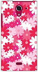 Coverfull 蜜蜂花(粉色) produced by COLOR STAGE/for AQUOS CRYSTAL X 402SH/SoftBank SSHCRX-ABWH-151-MA63