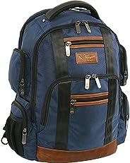 原创 PENGUIN Peterson 笔记本电脑背包适合大多数 15 英寸笔记本电脑和笔记本电脑背包 *蓝 均码