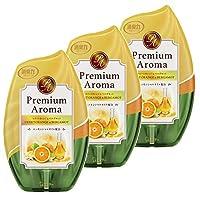 【量贩装】房间的*力 Premium Aroma 高级香薰 房间用 甜橙&佛手柑香 400ml×3个 玄关 客厅 卧室 房间芳香剂