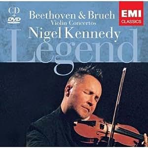 进口CD:贝多芬/布鲁赫小提琴协奏曲55802705(1CD+1DVD)