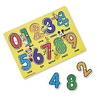 Melissa & Doug 迪士尼米奇鼠数字木质拼图(10 片)