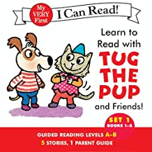 Learn to Read with Tug the Pup and Friends! Set 1: Books 1-5 (English Edition)