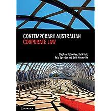 Contemporary Australian Corporate Law (English Edition)