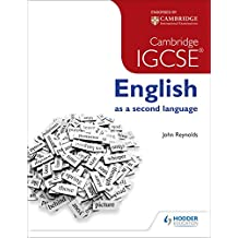 Cambridge IGCSE English as a second language (English Edition)