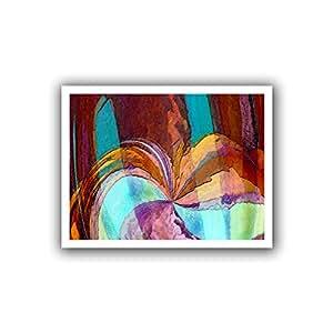 ArtWall Dean Uhlinger 'Yata' Unwrapped Canvas Wall Art, 28 by 36-Inch