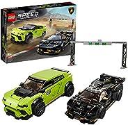 LEGO 76899 Speed Champions Lamborghini Urus ST-X 和 Lamborghini Huracan Super Trofeo EVO 赛车套装