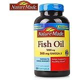 Nature Made fish oil 深海鱼油软胶囊220粒(美国品牌 香港直邮)