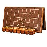 御圣-中国象棋套装-实木中国象棋-5分-折叠式