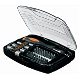黑色 + Decker 棘轮螺丝刀 40 件套 A7062 配件